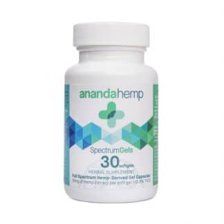 Ananda Hemp Spectrum Gel Capsules