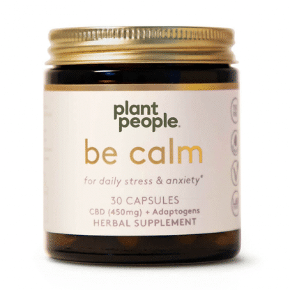 Plant People Be Calm Capsules