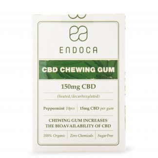 Endoca Hemp Oil Chewing Gum