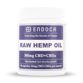 Endoca Raw Hemp Oil Capsules