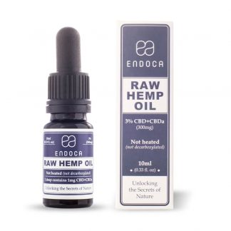 Endoca Raw Hemp Oil Drops