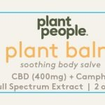 Plant People Plant Balm Back Label for sale