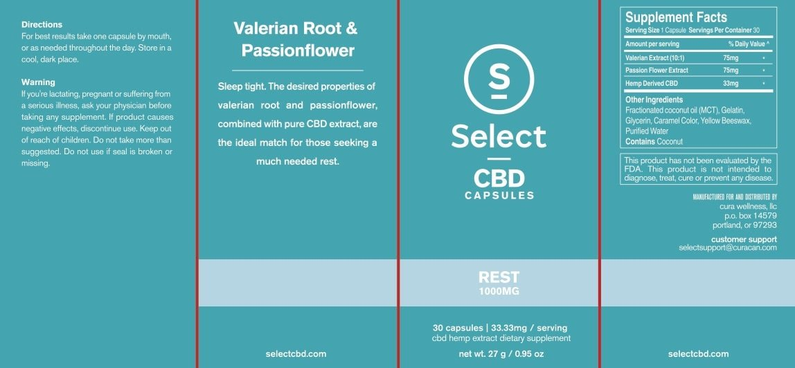Select CBD Gel Capsules | Lifted CBD